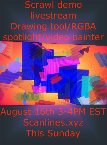 scrawl demo poster