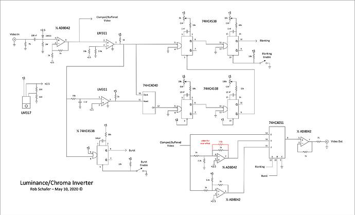 Luminance-Chroma Inverter